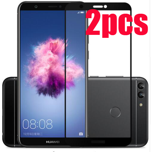 P Smart Full Coverage Tempered Glass Screen Protector For Huawei P Smart For Huawei PSmart Dual SIM Full Tempered Glass Screen