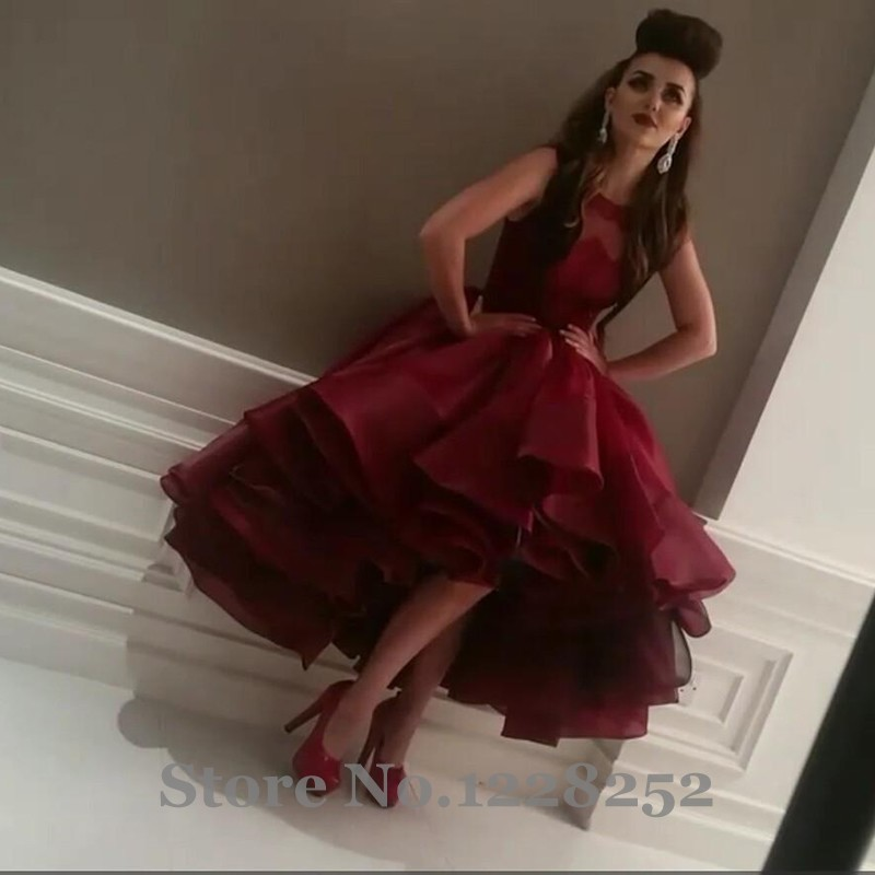 Arabian Prom Dresses Red