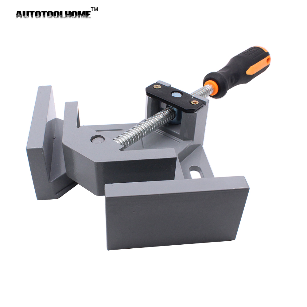 Woodworking Clamps for Kreg Pocket Hole Jig 90 Degrees Right Angle Clamp for Wood PVC Pipe Aluminum Metal Corner Clamps Tools клещи ручные тиски kreg face clamp khc premium