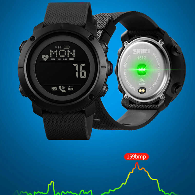 Smart Watch For Android Wear Android OS IOS Bluetooth Women Smartwatch Men Sport Watch Compass relógio inteligente SKMEI 2019