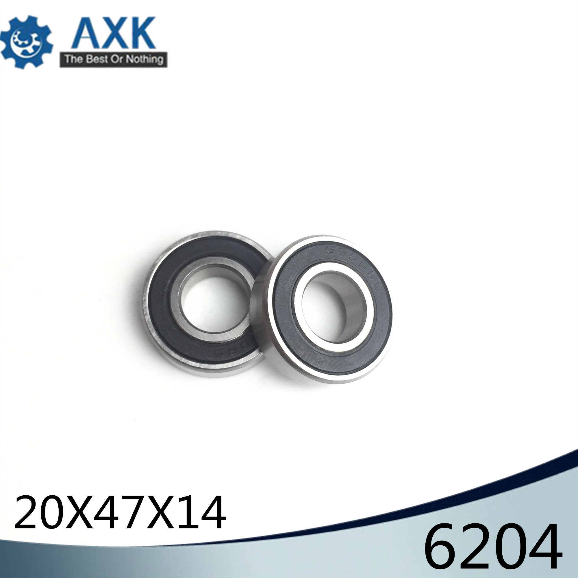 6204 Hybrid Ceramic Bearing 20*47*14 mm ABEC-1 ( 1 PC) Industry Motor Spindle 6204HC Hybrids Si3N4 Ball Bearings 3NC 6204RS6204 Hybrid Ceramic Bearing 20*47*14 mm ABEC-1 ( 1 PC) Industry Motor Spindle 6204HC Hybrids Si3N4 Ball Bearings 3NC 6204RS