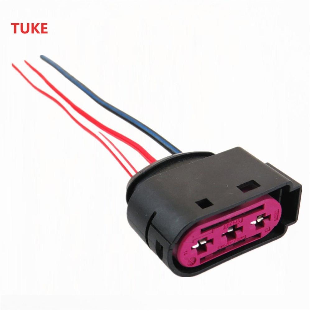 tuke 5 pcs fuse box connector 3 pin plug cable adapter for vw beetle fuse box connector pins [ 1000 x 1000 Pixel ]