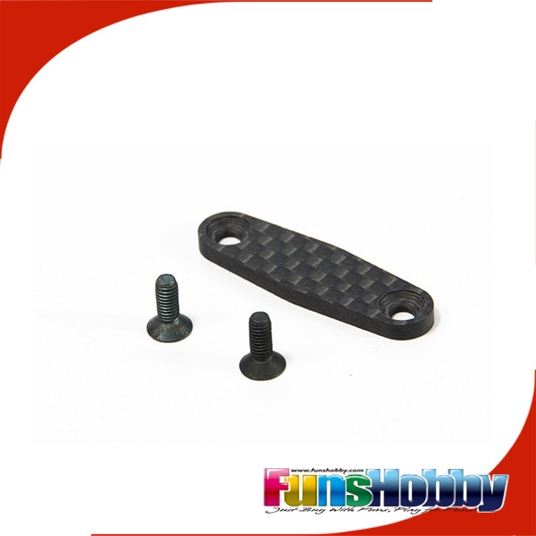 Motonica Front Carbon Fiber Lower Bulkheads Linkage + Screw (2 pcs)#15111RD02 EXCLUDE SHIPMENT