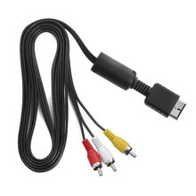 1Pcs 2019 RCA AV Multi Out To Component Video/Audio Cable Co