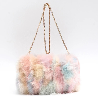 Buy Real Fur Messenger Shoulder Bags | Fashion Handbags For Women