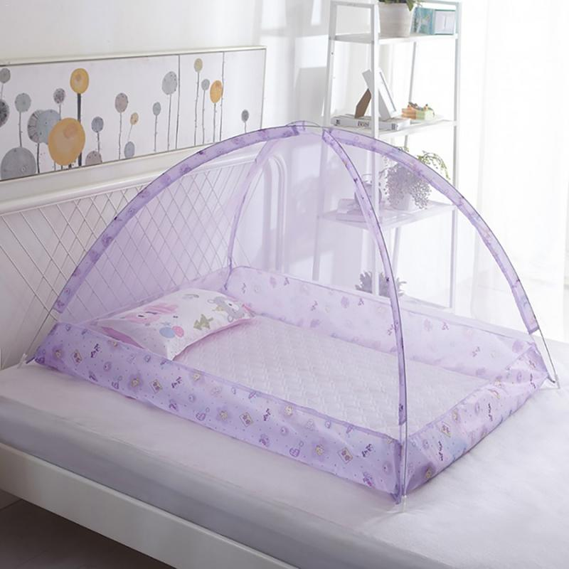 Baby Bedding Crib Netting Folding Home Bed Bottomless Children's Mosquito Net Bed Net Baby Dome Free Installation
