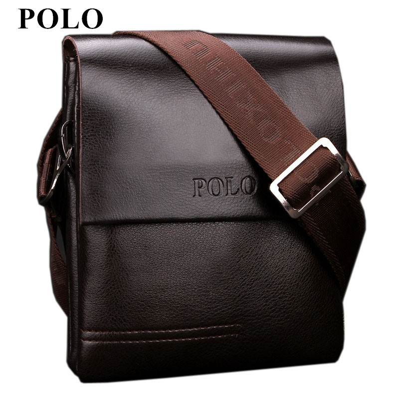 New Arrived POLO Genuine leather men