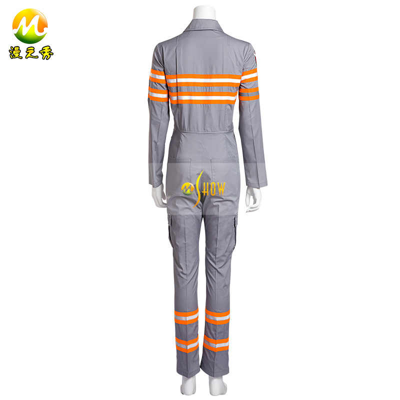 Ghostbusters 3 Jumpsuits Halloween Cosplay Costume Untitled Ghost Busters Reboot Uniform Belt for Adult Unisex