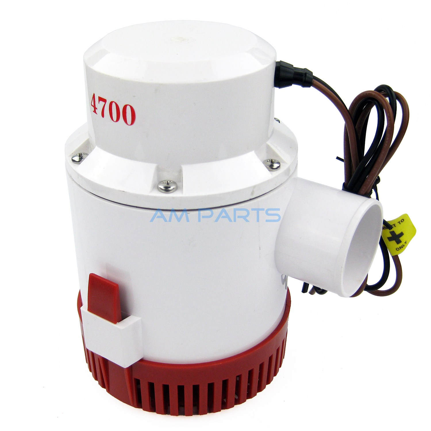 12V 4700 GPH Marine Bilge Pump Boat Water Pump Yacht Submersible Pump sailflo new mini bilge pump marine water aspirator fountain submersible yacht boat electric marine bilge pump