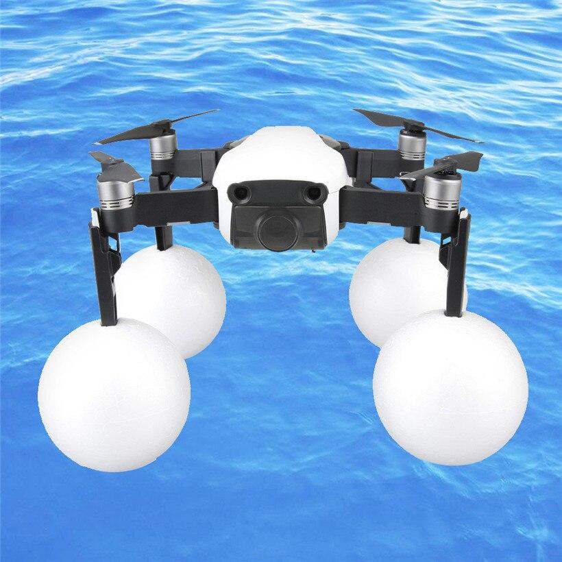 Water Landing Drone Accessories Light Weight Landing Gear Leg Extenders Emergency Float Balls For DJI Mavic Air 80523