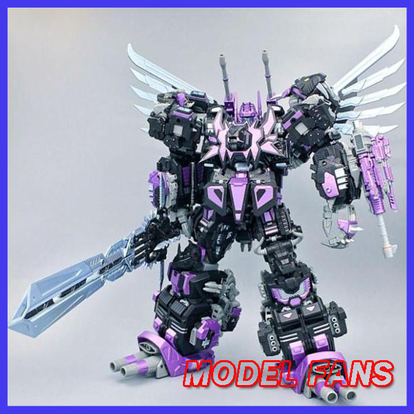 цена на MODEL FANS IN-STOCK neoart toys ko MMC Transformation robot black Predaking freeshipping