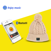 Sport Wireless headphones Music hat Smart Caps Bluetooth 4.0 Headset earphone Warm Beanies Winter Hat with Mic Christmas Gift