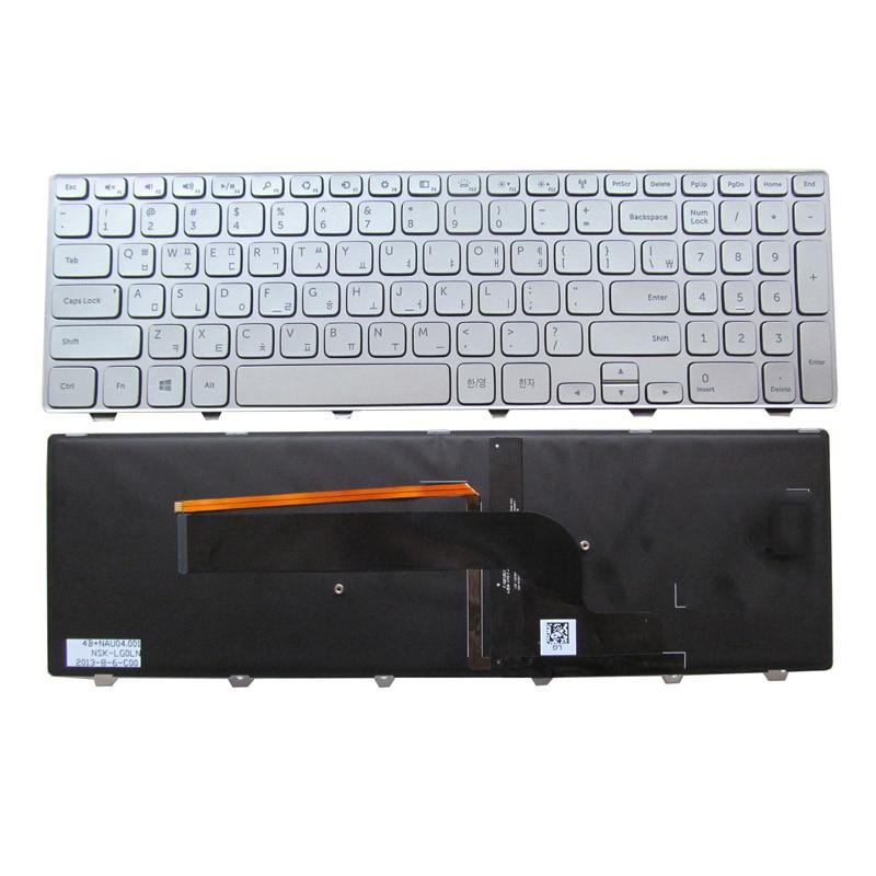 New keyboard for DELL INSPIRON 15 7537 7000 P36F KOREAN/DANISH/NORWEGIAN/RUSSIAN/TURKISH/US/UK layout