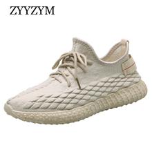 ZYYZYM Shoes Men Sneakers Spring Autumn 2019 Hot Sale Casual Breathable Light Fashion Youth Students