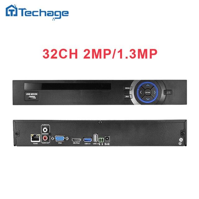 HI3535 HD 32CH 1080 P ВИДЕОНАБЛЮДЕНИЯ NVR ONVIF Ip-камеры Безопасности системы Видеонаблюдения Видеорегистратор Motion Detect FTP 3 Г Wi-Fi 2 SATA порт