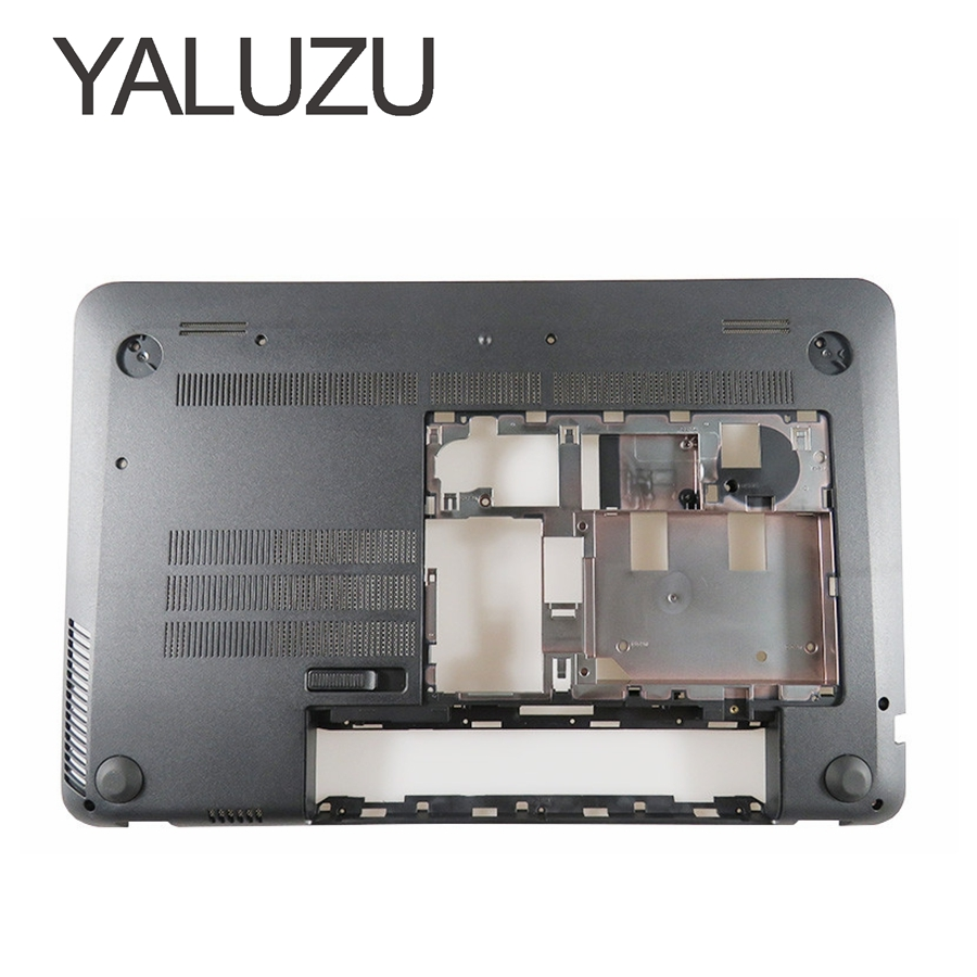 YALUZU NEW Laptop Bottom Base Case Cover for HP Envy 15-J 15-J000 15-J100 lower case D Shell 720534-001 6070B0660802 black gzeele laptop lcd back cover screen for hp for envy 15 15 j 15 j000 15 j100 lcd front bezel cover 720535 001 b shell touch black