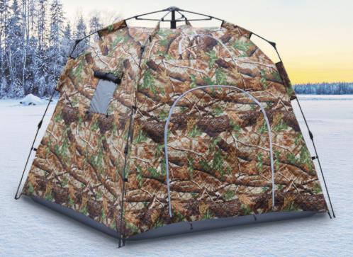 Professionnel épaissir coton garder au chaud hiver entièrement automatique chasse observation oiseau en plein air Camping plage tente glace pêche tente