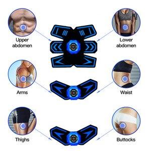 Image 4 - Stimulateur musculaire électrique sans fil abs, entraîneur EMS, myostimulateur corporel Fitness, perte de poids, massage amincissant