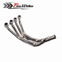 51MM New Middle pipe full System For YAMAHA YZF R6 R6 2008 17 Motorcycle Modified Muffler Pipe Front Header Pipe Tube
