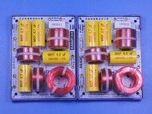 2 pièces KASUN AS-63C 2 voies 3 unité contrebasse 180 W Hi-Fi haut-parleur diviseur de fréquence filtres croisés