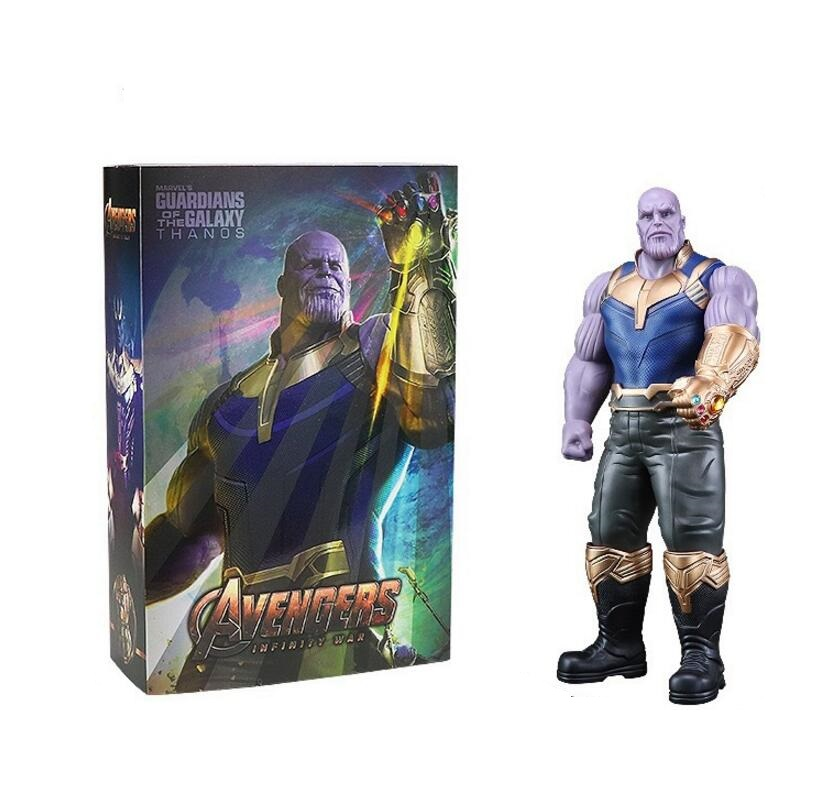 2018 New 33cm Marvel Toys the Avengers 3 INFINITY WAR Thanos PVC Action Figures Super HERO SERIES Figure Collectible Model Toy marvel select avengers hulk pvc action figure collectible model toy 10 25cm