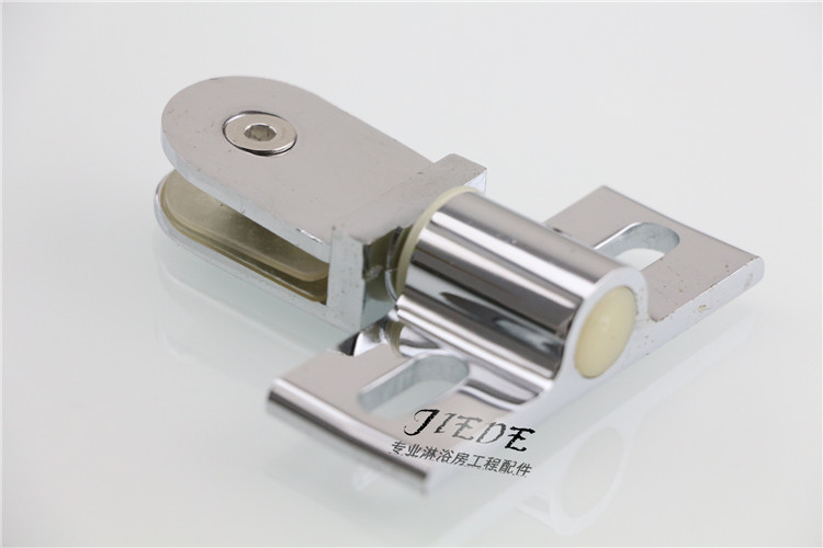 Wall door shower room accessories glass door clamp shaft and bathroom glass door clip clip plane rotation shaft