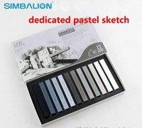 מקל 12 צבע טונר סקיצה ייעודית SP-12S ציור גיר עט סמן אמנות SIMBALION שאינו רעיל להגנה על סביבה
