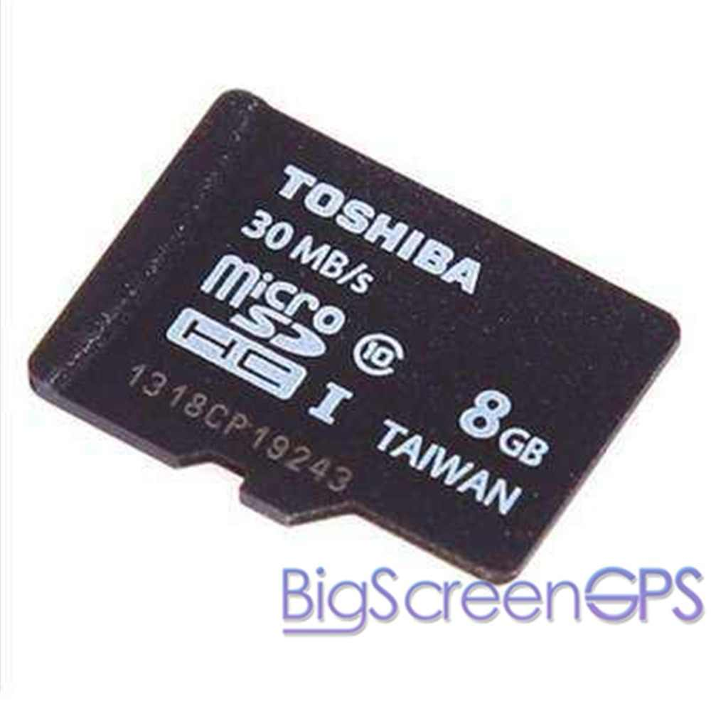 8GB reproductor de DVD de coche GPS Mapa de música tarjeta SD tarjeta TF memoria Flash para el teléfono del coche