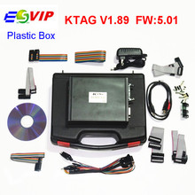High Quality  V1.89 KTAG K-TAG Firmware V5.01 ECU Programming Tool With Unlimited Token With Plastic box