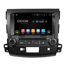 Android 2 din dvd del coche para mitsubishi outlander 200-2012 con enlace espejo auto estéreo multimedia navegación gps wifi