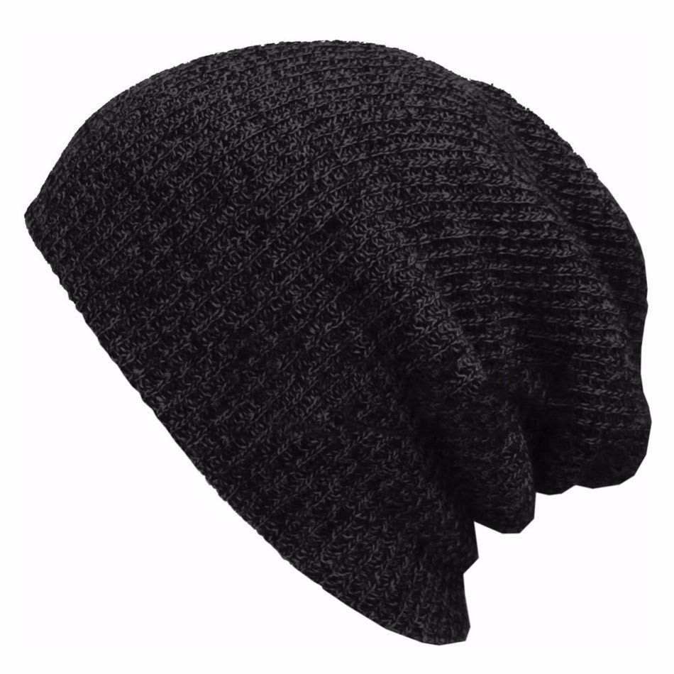 12eb5916450 ...  17) Fur Pompom Knit Hat Winter Hats For Women Men Warm Casual Cotton  Hat Crochet Slouchy Knit Baggy Oversized Ski Beanie Hat Female Skullies  Beanies.