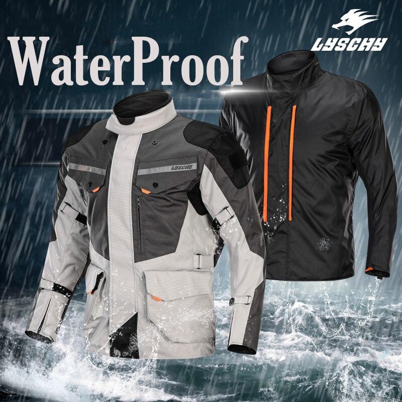 Men s Autumn Winter Cold proof Motorcycle Jacket Motocross Protective Gear Auto Racing Coat Off Road