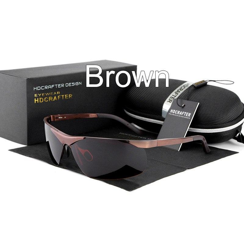 Man sunglasses Driving hot fashion brand glasses 2016 male designers polarized light quality UV400 E806