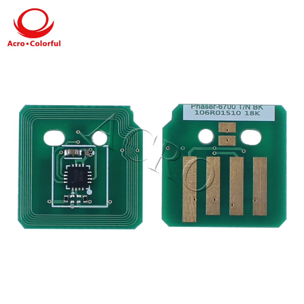 106R01503 106R01506 Toner Chip Reset for Xerox Phaser 6700 Laser Printer cartridge North America Western Europe in Cartridge Chip from Computer Office