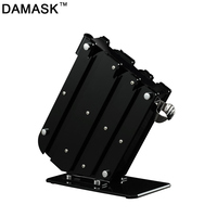 Damask Knife Holder Kitchen Accessories Stainless Steel Kitchen Knife Stand Multifunctional Large Capacity Knife Block Holder