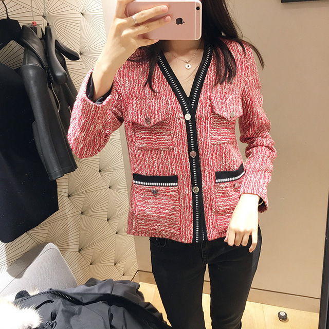 Women Jacket 2019 Spring and Summer New Casual Jacket V-neck Top