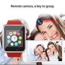 Original A1 Bluetooth Reloj Inteligente Paso Conteo Herramienta Del Deporte de la Cámara Remota y la Función de Sincronización para Android Teléfono Móvil