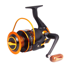 Hot Fishing Spinning Reel 12+1 Bearing Balls 1000-9000 Series Super Strong Fishing Reel 5.2:1 Carp Fishing Spinner Wheel XQ-06