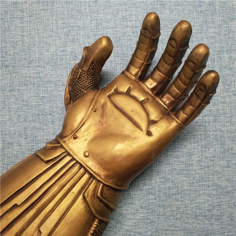 Avengers Infinity War Thanos LED Light Gauntlet Gloves Cosplay Costume Hot