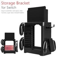 Multi Function Host shelf Storage Bracket Tower Holder Stand Shelf for Switch Game Disc Card