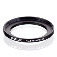 Original rise (uk) 40.5mm 49mm 40.5 49mm 40.5 49 스텝 업 링 필터 어댑터 블랙