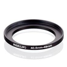 Originele Rise (Uk) 40.5 Mm 49 Mm 40.5 49 Mm 40.5 49 Step Up Ring Filter Adapter Black