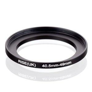 Image 1 - Oryginalny RISE (UK) 40.5mm 49mm 40.5 49mm 40.5 do 49 pierścień redukcyjny adapter do filtra czarny