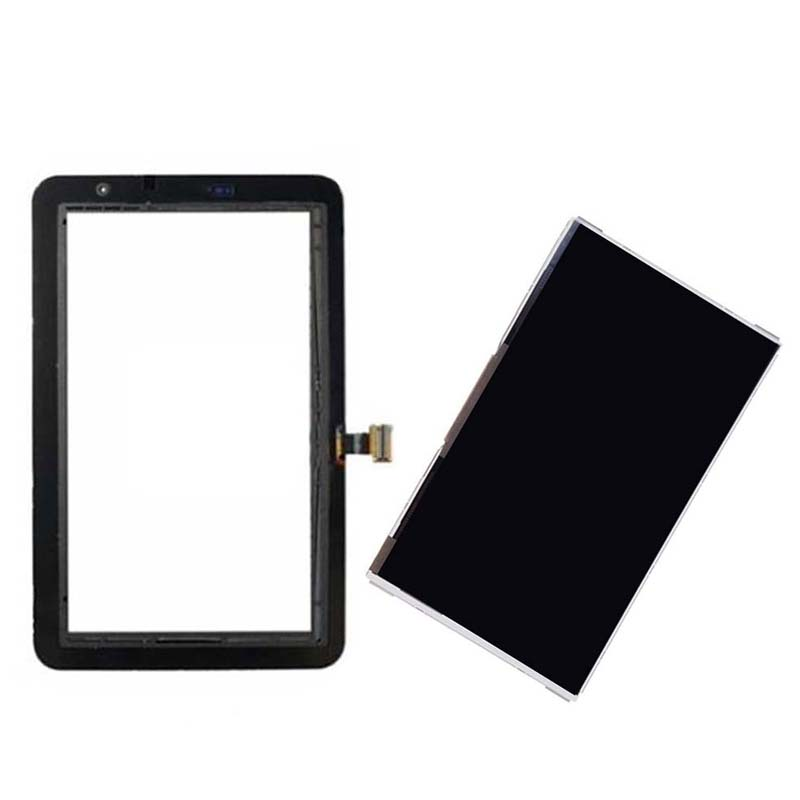 Black/White For Samsung Galaxy Tab 2 7.0 P3110 Touch Screen Digitizer Sensor Glass + LCD Display Screen Panel Monitor