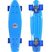 WEING 526 Single tilt Fish type Skateboard Penny Board Skate Deck KayKay Paten