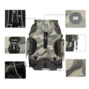 Image 4 - DC 810D Polyester Fabric Inline Speed / Slalom Roller Skates Backpack Travel Camping Camouflage Multi function Skating Bags BB2