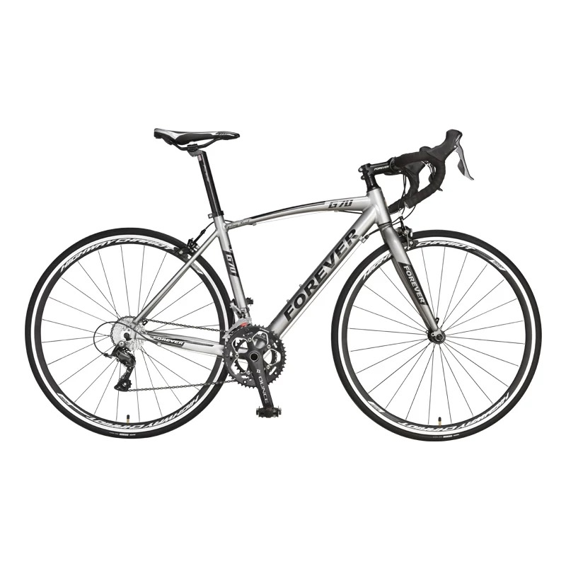 26 Inch Steel 16 Speed Bicycles  Variable Speed Road Bikes  Racing Male Aluminum Alloy Adult Super Light 700 C