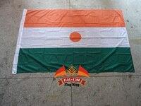 Niger National Flag 100 Polyster 120 180CM Anti UV Digital Printing Flag King Niger Country Banner