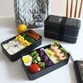 TUUTH 2000 мл микроволновая печь Ланч-бокс портативный двухслойный Bento Box BPA бесплатно для детей пикника офисных работников школьная посуда