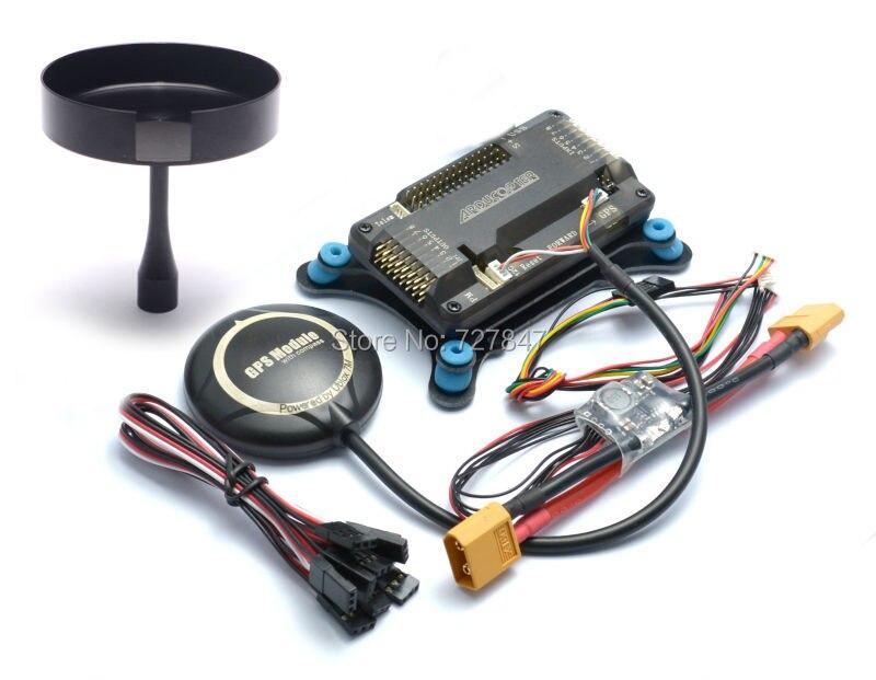 APM 2.8 apm2.8 Игровые джойстики доска амортизатор neo-7m 7 м GPS w/подставка держатель Мощность модуль для RC Quadcopter multiCopter